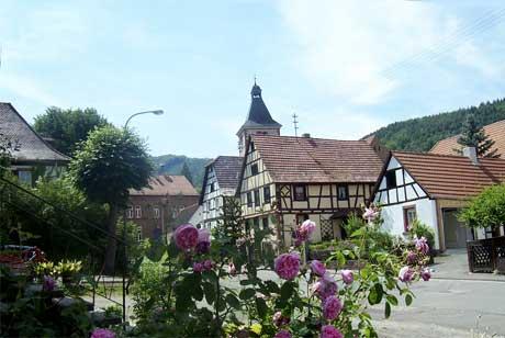 Rumbach, ortsstraße - foto: © k.faul